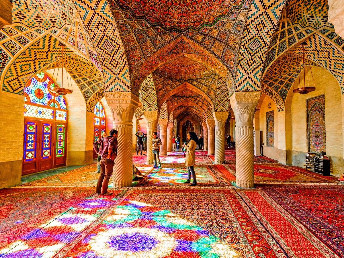 beautiful tourist attraction in iran12