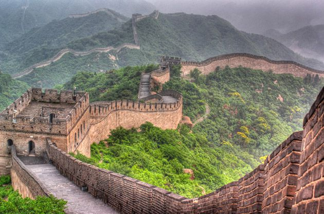 top of great wall of china