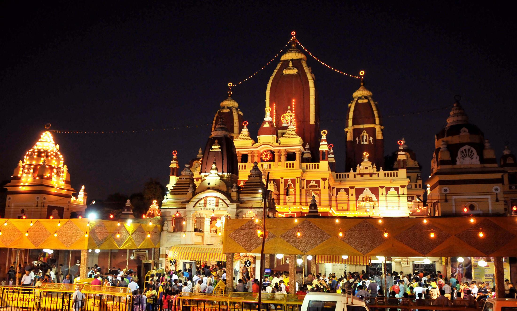 Mathura Janmashtami celebration