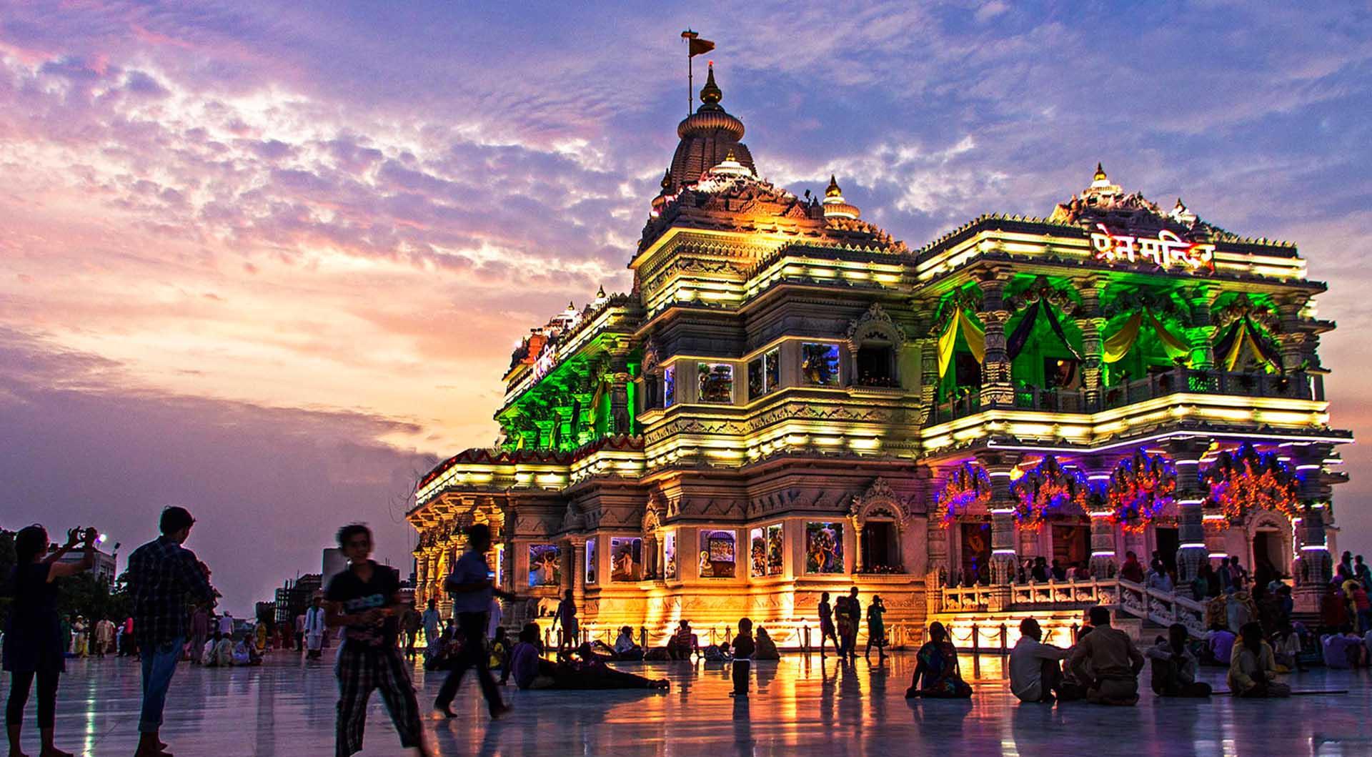 Vrindavan Janmashtami celebration