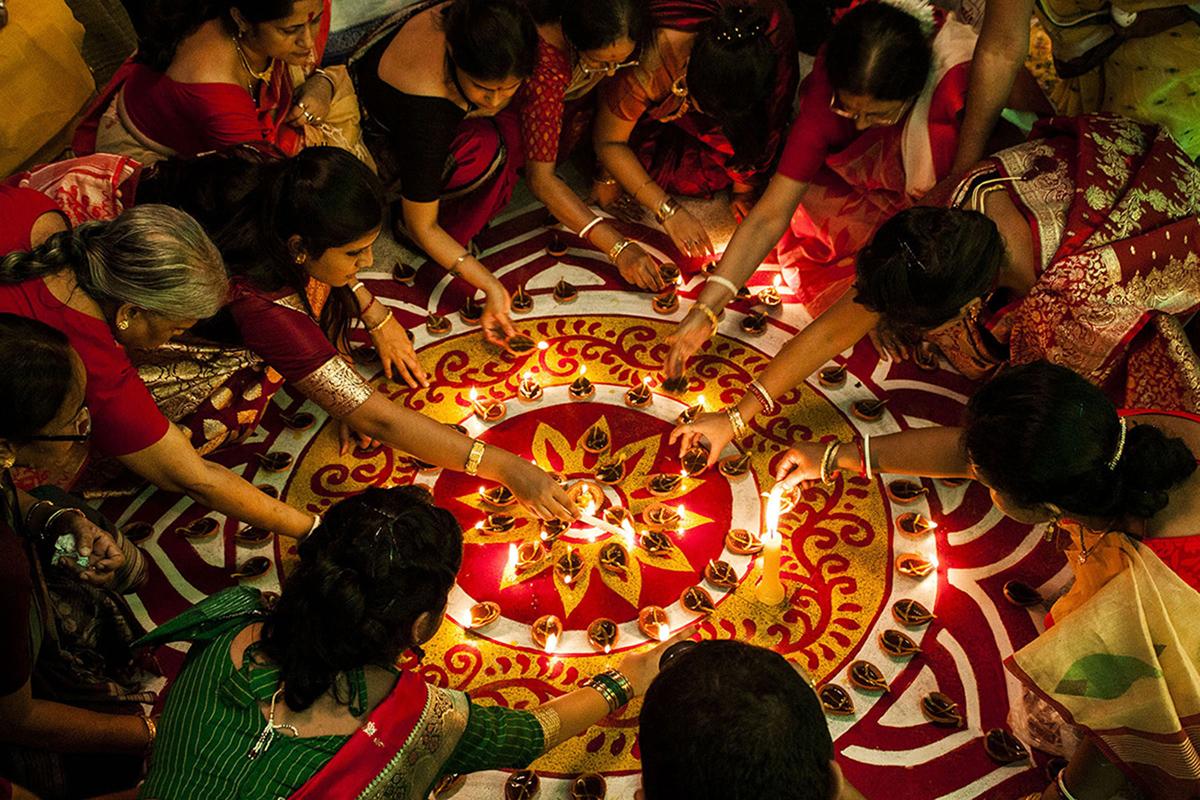 diwali festival in kolkata