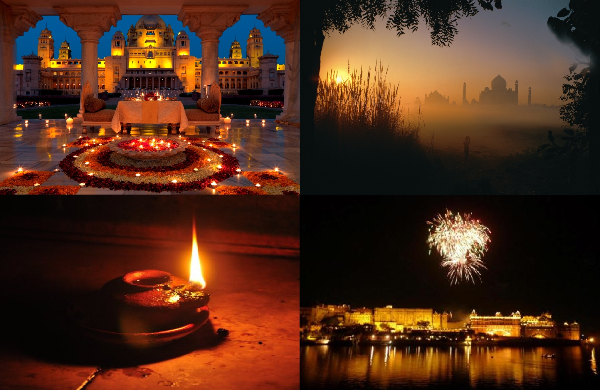 diwali in Agra