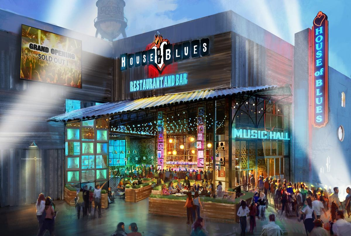 Anaheim House Of The Blues Relocation