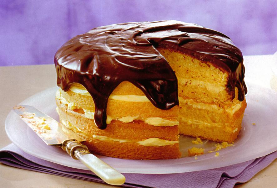 Eat The Authentic Boston Cream Pie