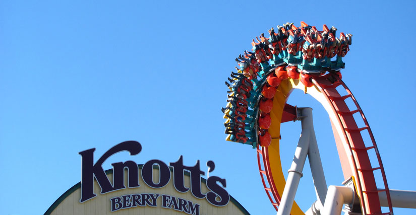 New Slides And Ride At The Knott's Berry Farm