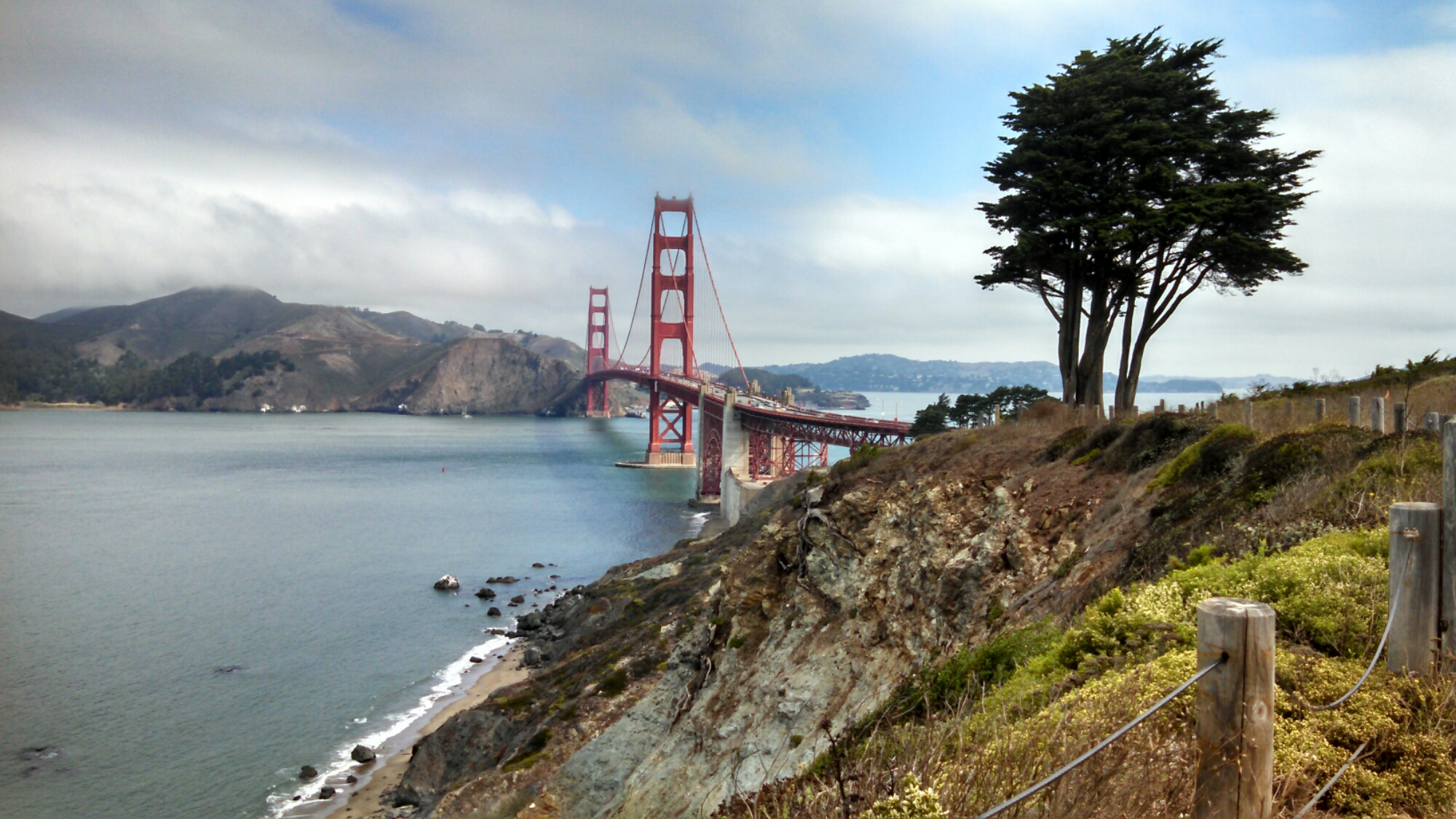 Click Pictures Of Golden Gate From The Other Side