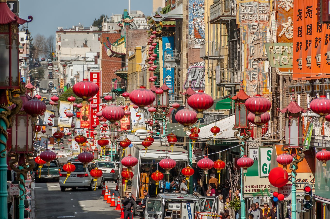 Get Lost In The Chinatown