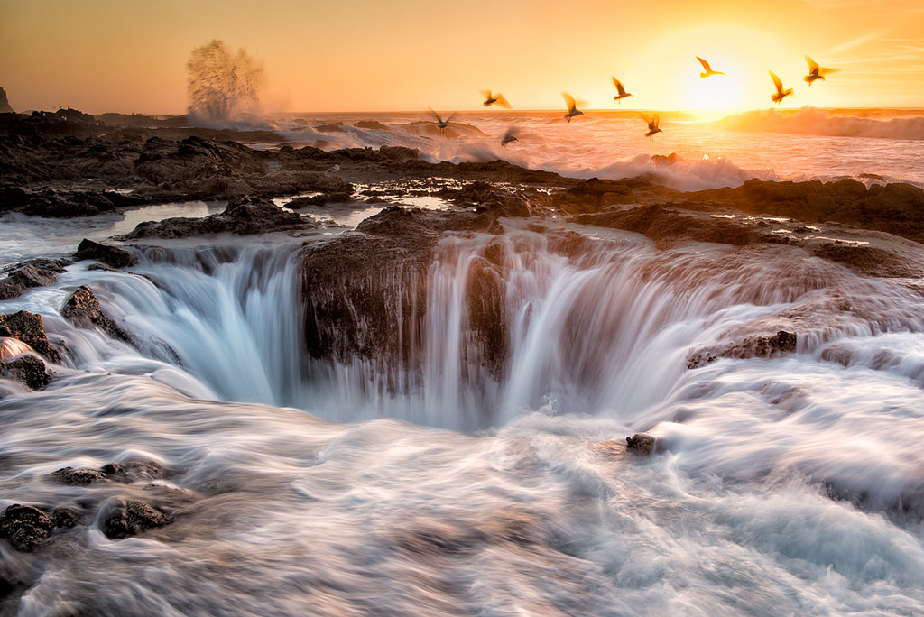 Thor's Well, Oregeon