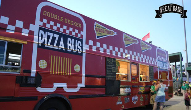 Pizza Bus Tour in New York