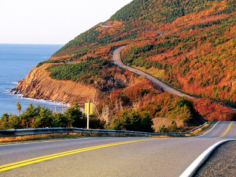 Fall on Cape Breton Island