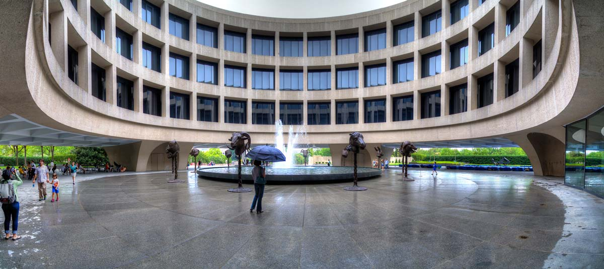 The Hirshhorn Museum, Washington DC