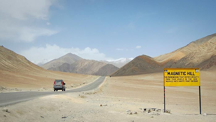 Magnetic Hill of Leh, Ladakh